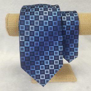 Kenneth Cole Reaction Men's Tie Geometric Silk